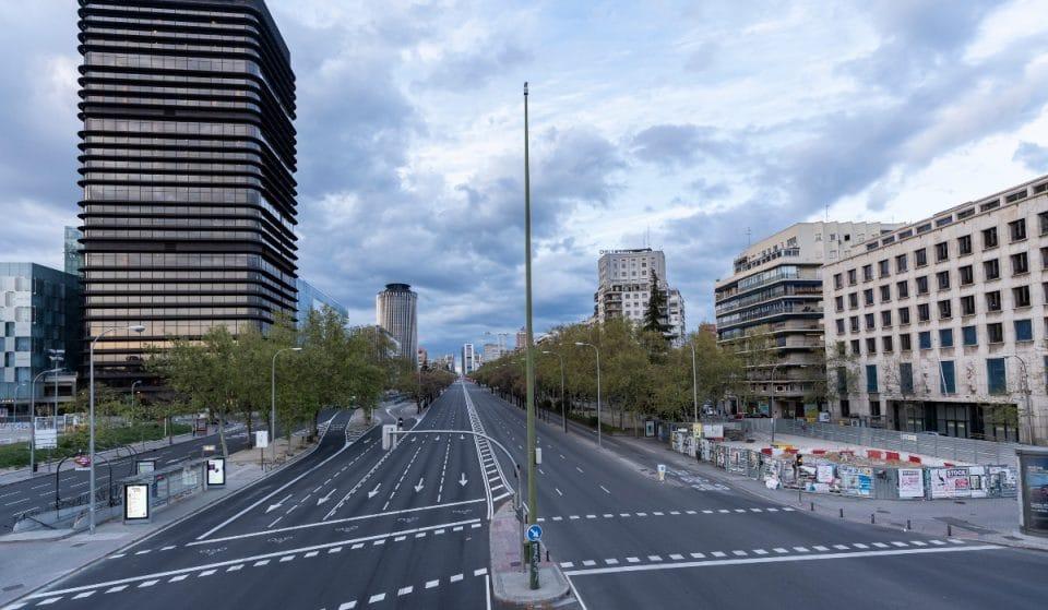 Las obras del carril bici de Castellana empezarán a finales de año