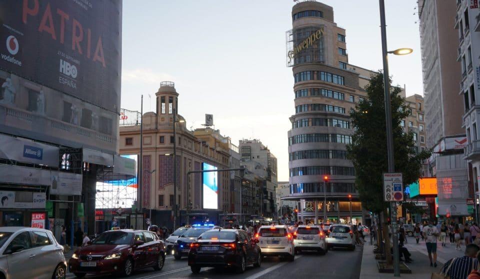 El tráfico en Madrid ya supera los niveles previos a la pandemia