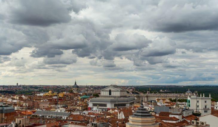 Madrid recibirá el puente de Todos los Santos con lluvia