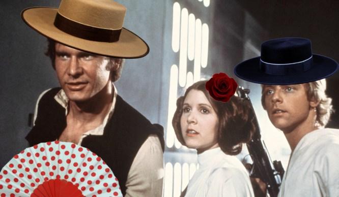 ¿Cómo sería Star Wars en Málaga?