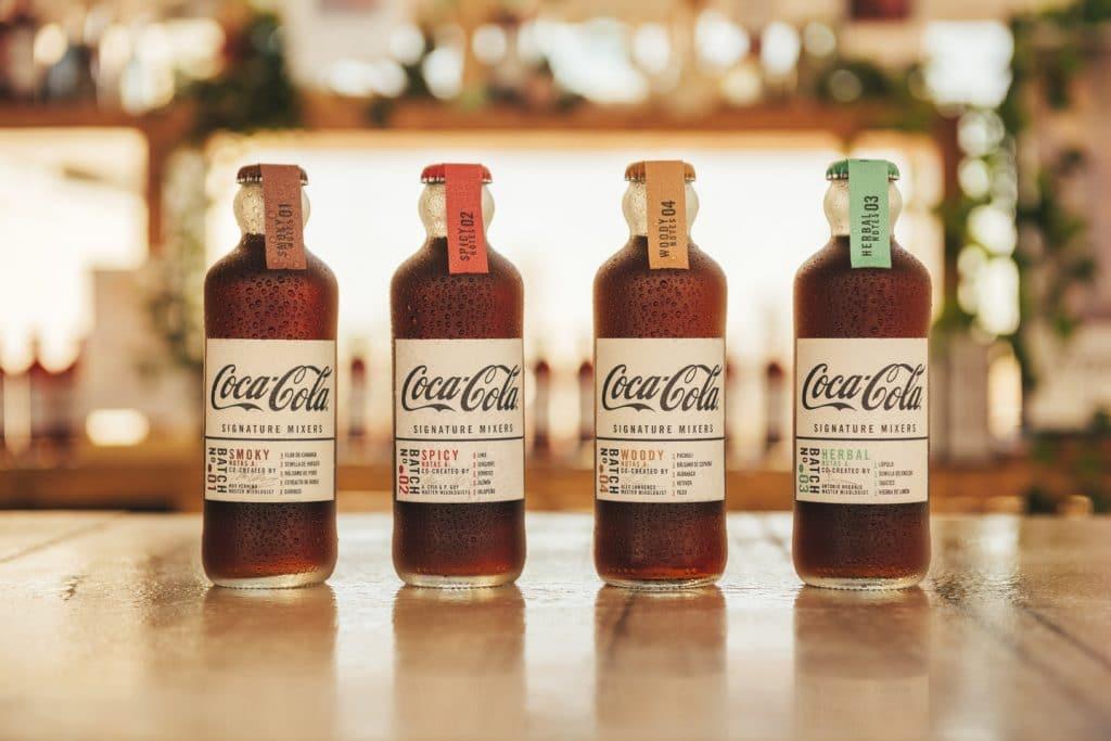 Coca-Cola Signature Mixers, o 4 maneras de disfrutar de Coca-Cola como nunca lo has hecho