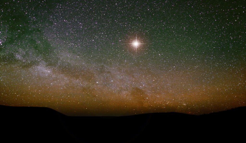 La «Estrella de Belén»: el fenómeno astronómico que se verá estas navidades tras 800 años