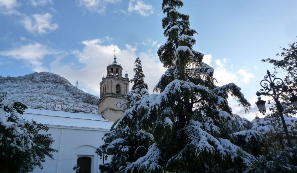Las fotografías que prueban que Filomena sí ha traído nieve a Andalucía