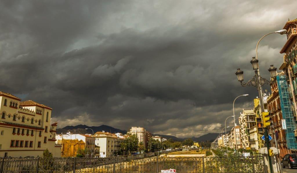 Gaetán, el sucesor de Filomena, llega a Málaga este miércoles