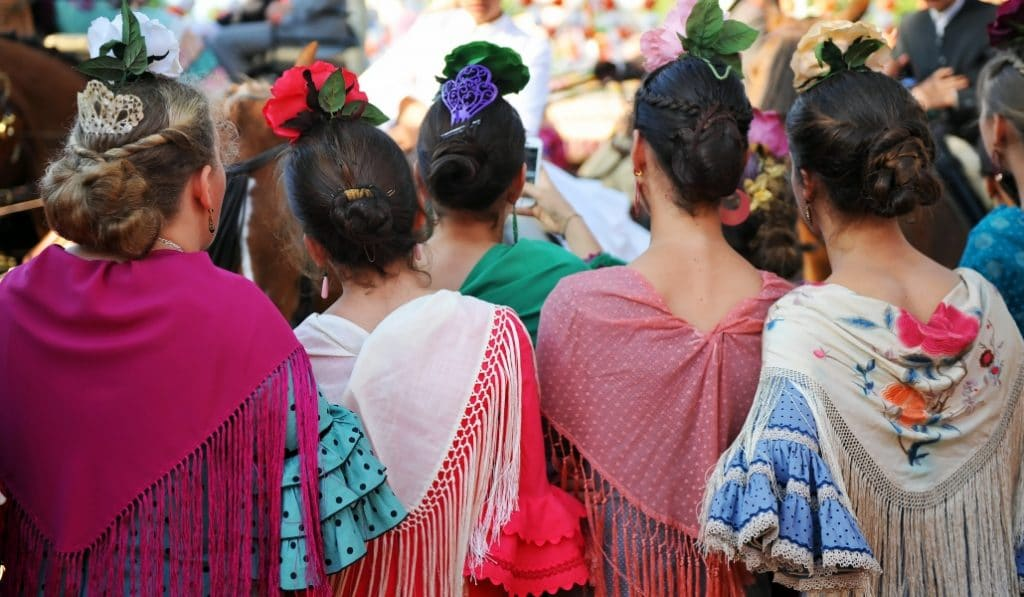 El traje de flamenca aspira a ser patrimonio inmaterial de la humanidad