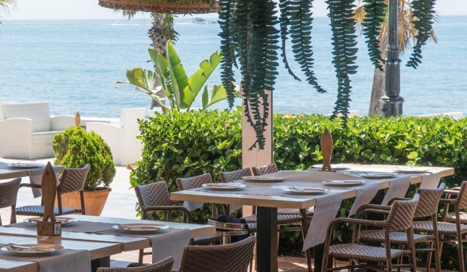 Alabardero Beach Club y su exclusivo menú gastronómico frente a la playa de Marbella