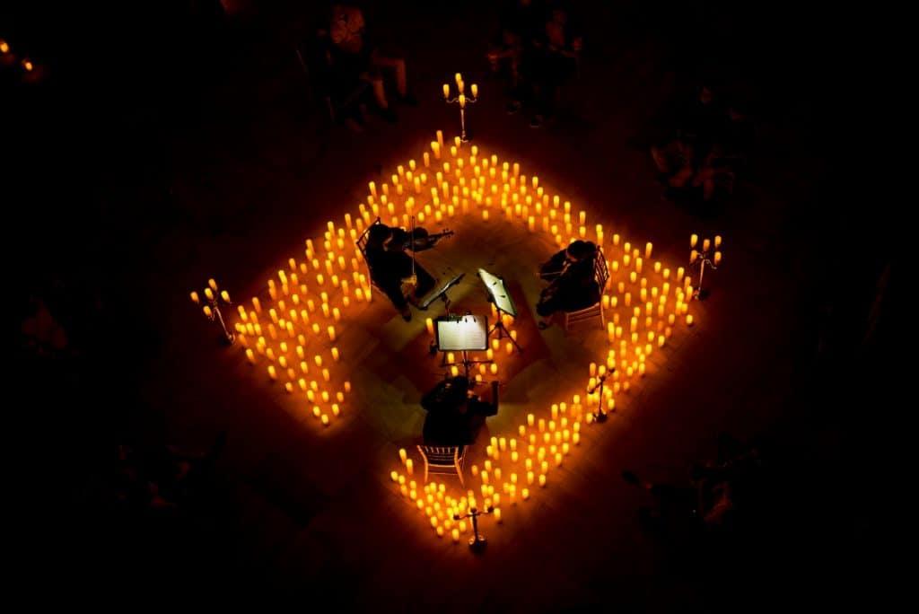 Las bandas sonoras más míticas y a la luz de las velas