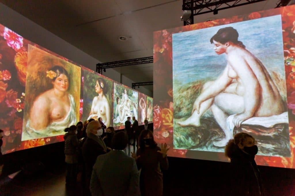 Una exposición en torno a los impresionistas donde los cuadros cobran vida