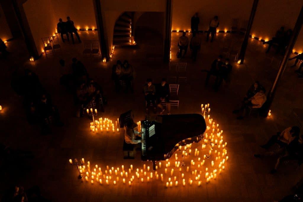 Candlelight rememora a Chopin entre cientos de velas