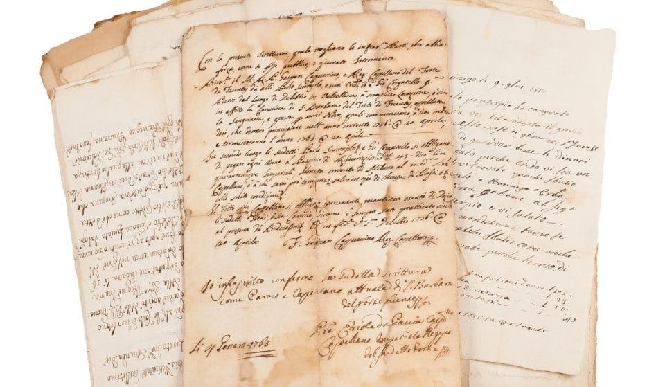 Así es la carta de un soldado que se ha encontrado casi 50 años después en la basura en Málaga