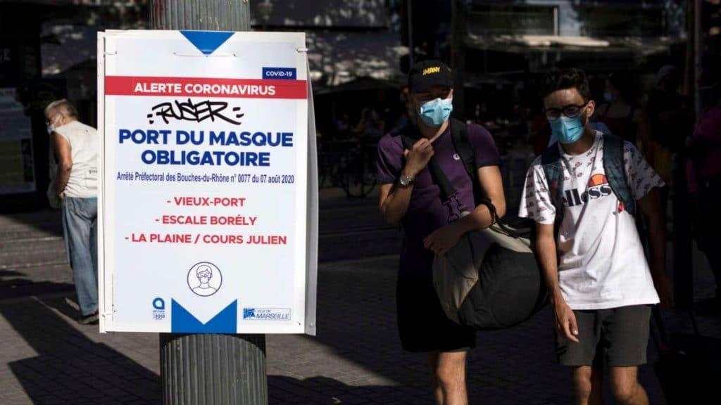 Coronavirus : Port du masque obligatoire dans tout Marseille et fermeture des bars et restaurants à 23h !