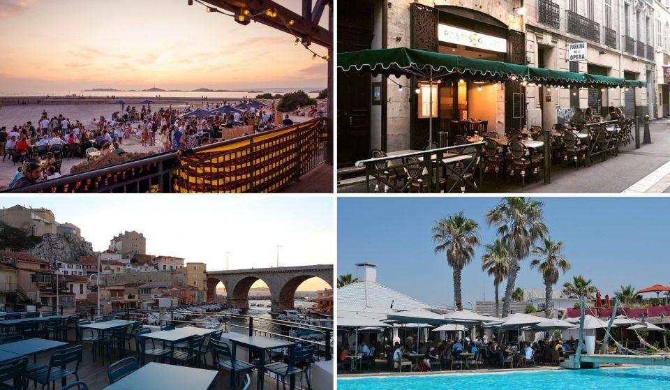 Les meilleures terrasses où boire un verre à Marseille !