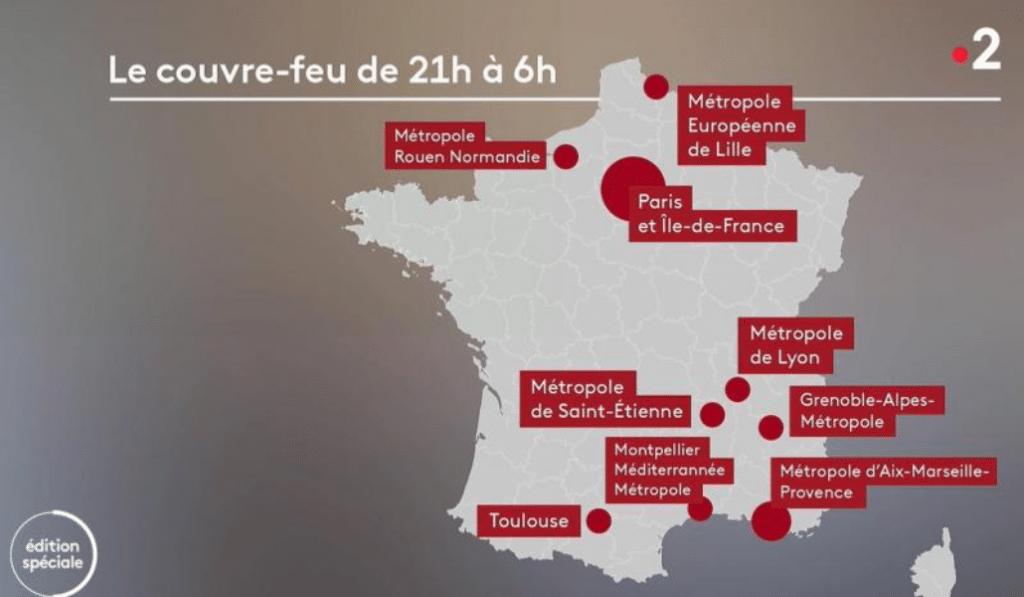 Comment fonctionne le couvre-feu à Marseille? Les détails annoncés par le gouvernement !