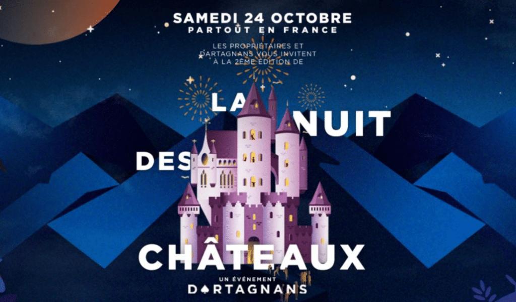 Nuit des Châteaux : les plus beaux châteaux de la région vous ouvrent leurs portes pour des visites nocturnes à la bougie