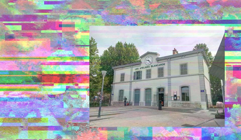 La Blancarde, une gare SNCF transformée en atelier d'art contemporain et économie circulaire