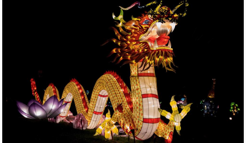 Le célèbre festival des lanternes Lumières Légendaires de retour à Marseille!