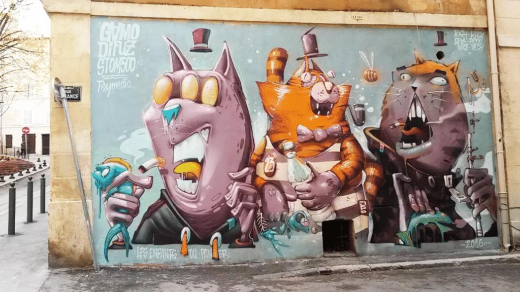 Impressions Partagées : un projet en soutien des artistes urbains de Marseille