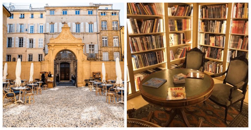 Hôtel + Restaurant + Librairie : Venez tester ce concept novateur à Aix-en-Provence