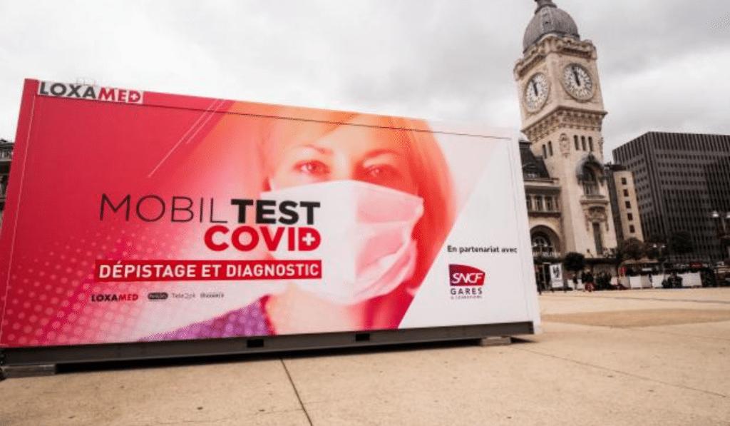 Mobiltest : une box de dépistage gratuit sur le parvis de la gare Saint-Charles