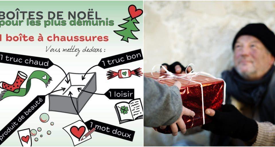 Noël 2020 : offrez des boîtes cadeaux solidaires aux sans-abris !