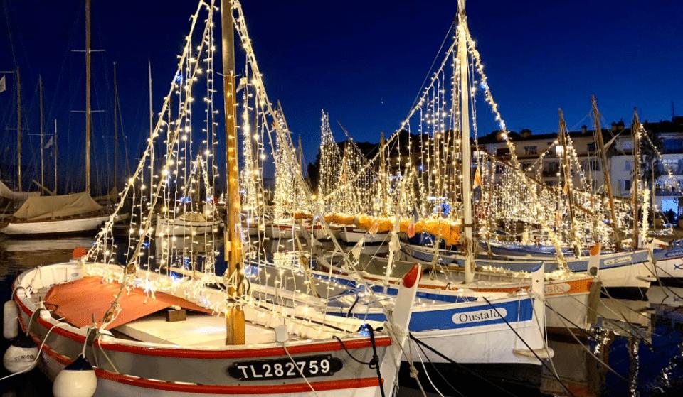 Noël à Sanary-sur-mer : un véritable voyage féérique en lumière !