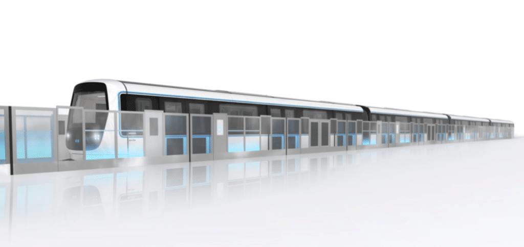Découvrez en images le nouveau design du futur Métro Marseillais !
