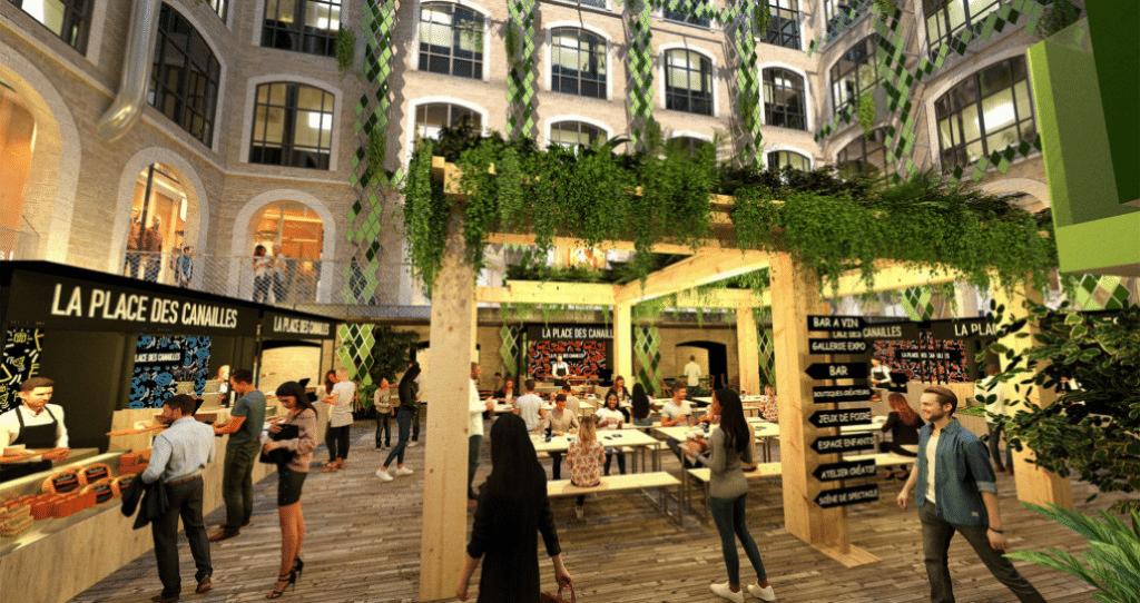 Une Halle Gourmande d'un nouveau genre débarque aux Docks Village en juin 2021 !