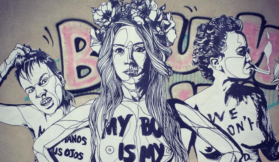 Marseille : Les plus belles oeuvres de Street Art qui mettent la femme à l'honneur !