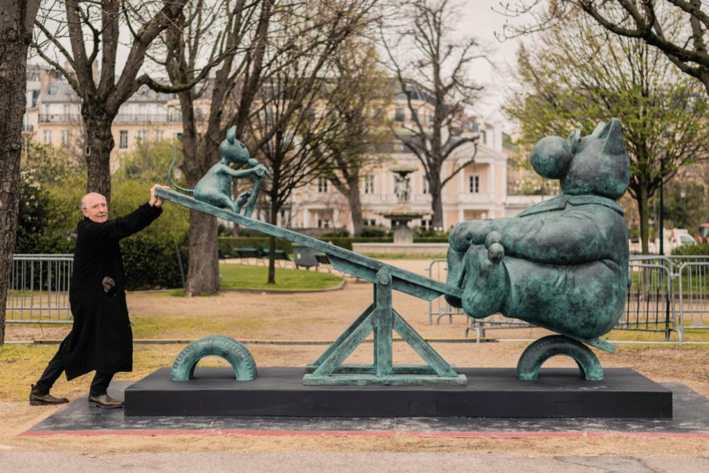 20 Sculptures Monumentales du Chat de Philippe Geluck investiront bientôt la Cité Phocéenne !