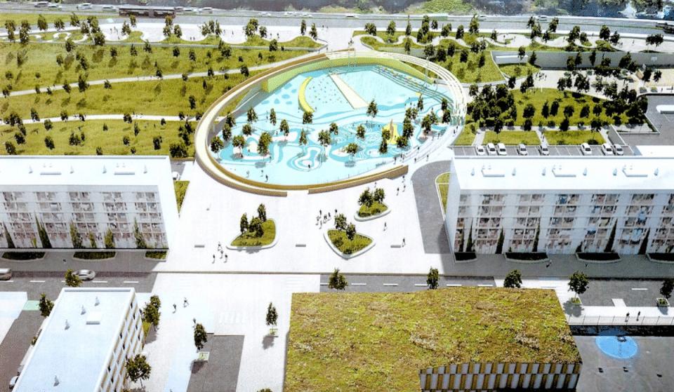 Un super Complexe Sports & Loisirs va voir le jour dans le quartier de La Busserine!