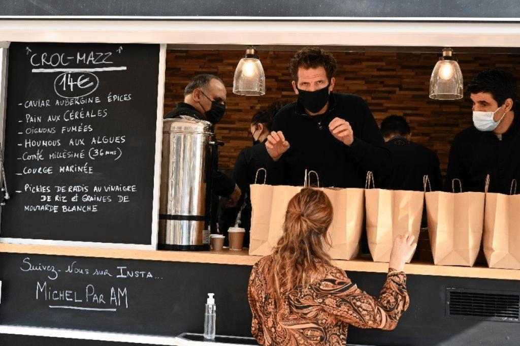 Le chef Alexandre Mazzia revient ce dimanche avec des Brunchs Gastronomiques à bord de son célèbre Food Truck !