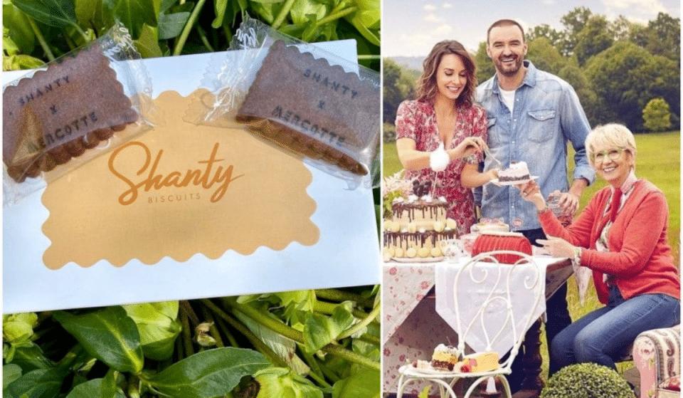 Mercotte (Le meilleur pâtissier) imagine des Biscuits Chocolat & Piment d'Espelette en collaboration avec Shanty Biscuits !