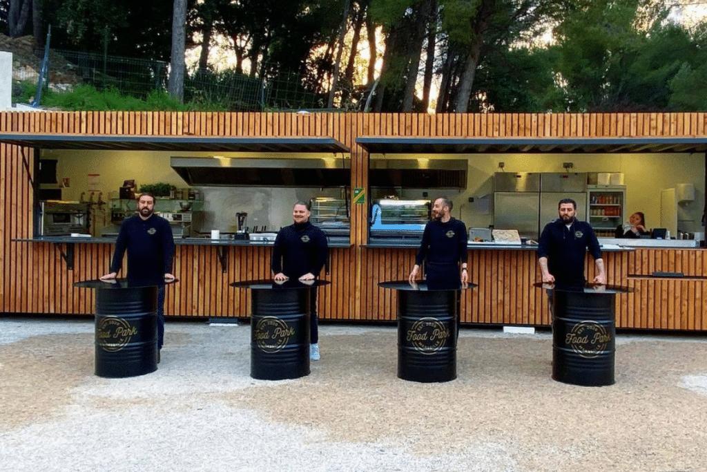 Food Park Marseille : Un tout nouveau Spot Gourmand débarque au coeur de la pinède !
