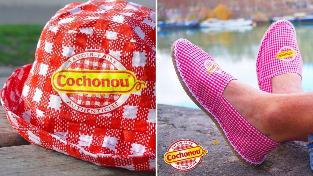 Insolite : Cochonou lance sa boutique en ligne avec espadrilles et bobs pour les beaux jours !