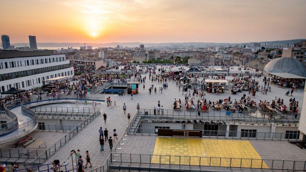 marseille festival utopia rooftop musique
