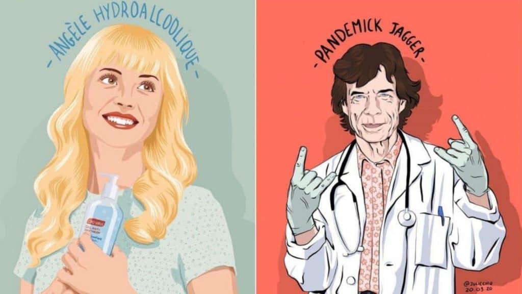 Insolite : Les illustrations détournées aux jeux de mots décapants de la graphiste Julie Chérèque !
