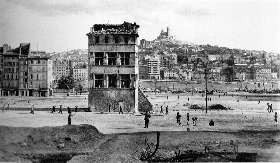 hotel decabre 1943 marseille bombardements vente