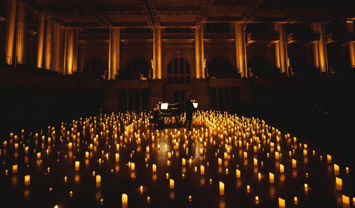 Candlelight Chopin : les concerts à la bougie enchantent le Théâtre Toursky en octobre !