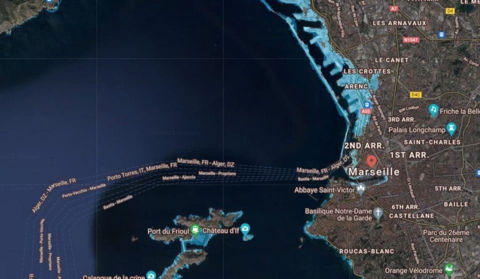 Voici à quoi ressemblerait Marseille avec la montée du niveau de la mer