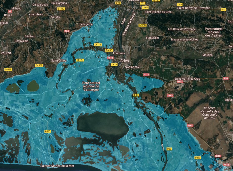 marseille niveau de l'eau montée mer 4