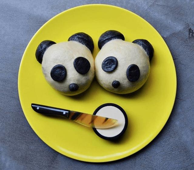 In questo locale milanese servono deliziosi panini al vapore a forma di panda