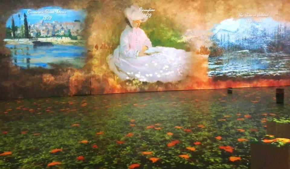La mostra multimediale dedicata a Claude Monet arriva finalmente a Milano