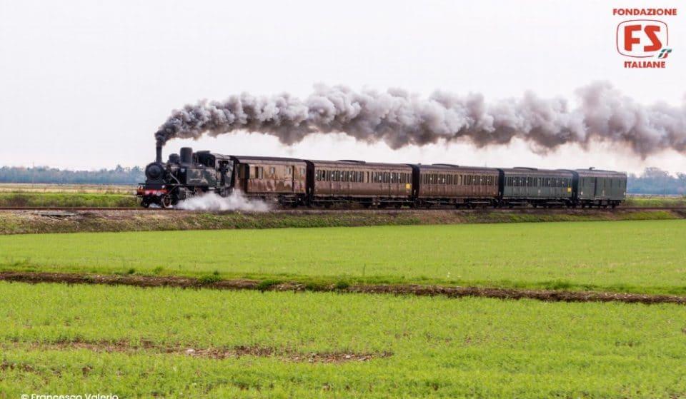 Il Treno del Vino, un viaggio su una locomotiva a vapore degli anni '30