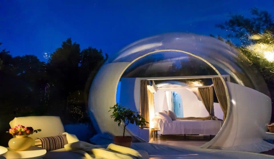 """Bubble Emotion: ecco dove dormire in una """"bolla"""" sotto il cielo stellato"""