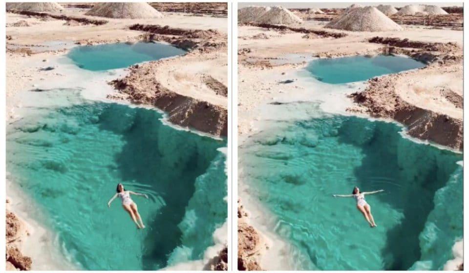 [Video] Nel deserto c'è una meravigliosa piscina naturale dove si può nuotare