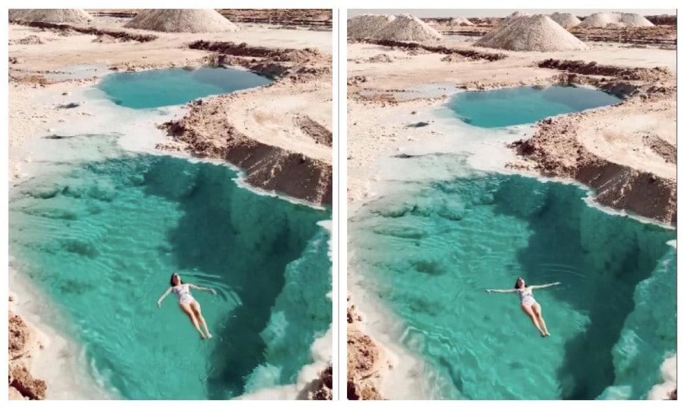 piscina egitto deserto