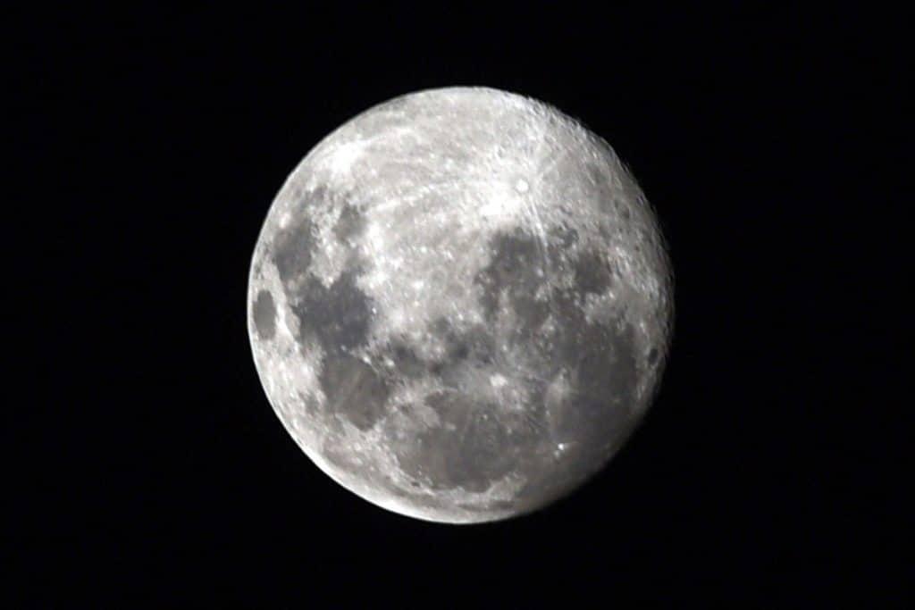 luna di neve
