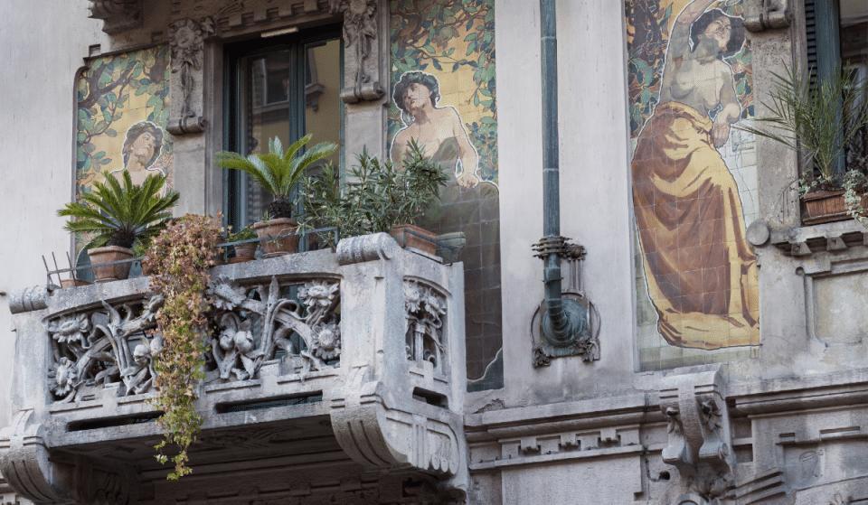 Edifici Liberty a Milano, un percorso a piedi che lascia a bocca aperta