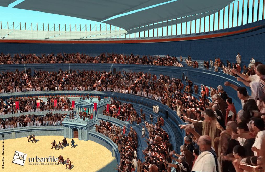 anfiteatro ricostruzione