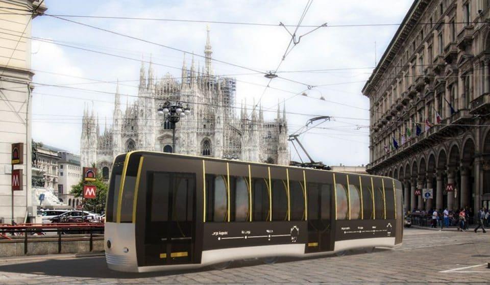 Passerella: un nuovo tram del futuro per Milano